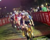 Belgians took charge early on at Cross Vegas 2013. © Cathy Fegan-Kim / Cyclocross Magazine