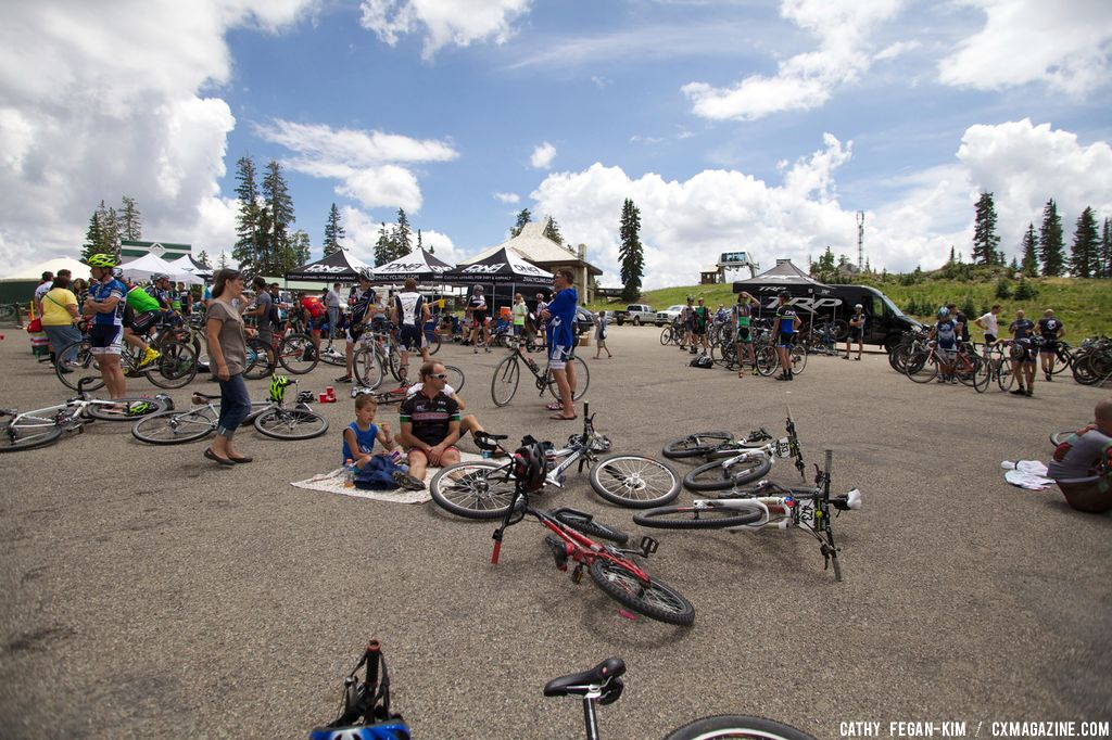 Post-race at Crusher in the Tushar. © Cathy Fegan Kim