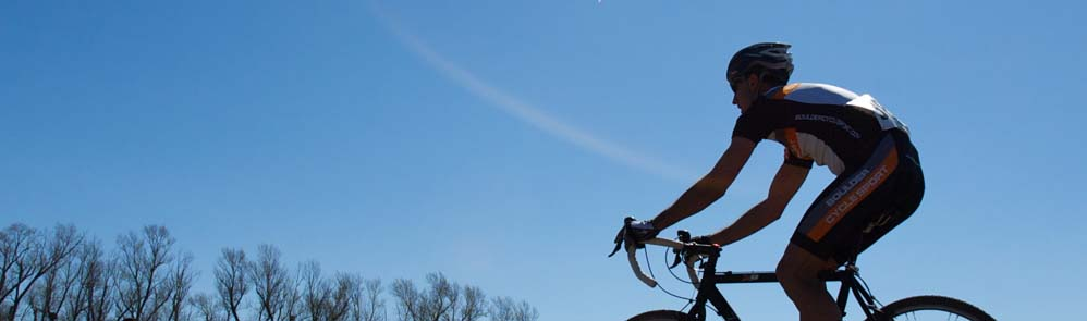 Blue bird skies blessed racers on Sunday. by Karen Jarchow