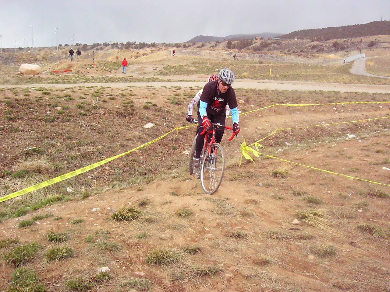 Tape, trail, cool weather...it's cyclocross! ? Ryan Hamilton