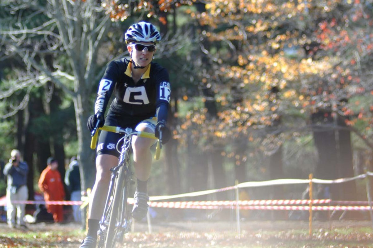 Christina Tamilio (Ladies First Racing) picked up a sixth place on the day © Dave Chiu