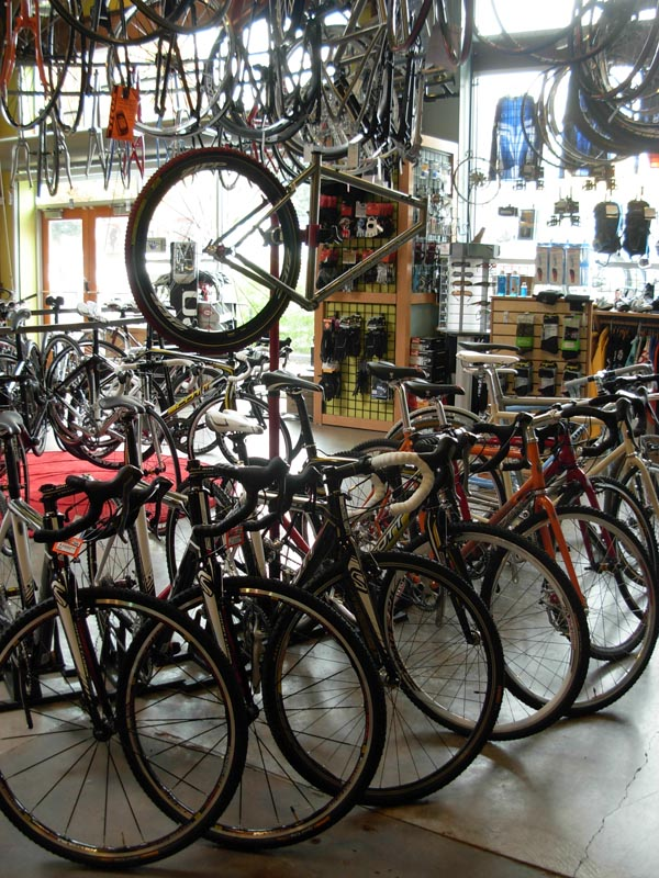 A sweet array of \'cross bikes ? Josh Liberles