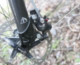 The Formula R1 hydraulic disc brakes are one of the lightest available. © Cyclocross Magazine
