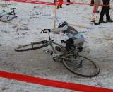Crashes, Day 1, Cyclocross National Championships. © Janet Hill