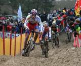 Stybar leads a group through the sand in Koksijde.  ? Bart Hazen