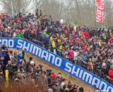 Koksijde Cyclocross World Cup Fans on Dune © Dean Warren