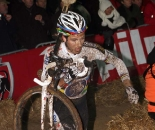 Niels Albert rode through the mud in Diegem to another win. © Bart Hazen