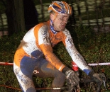 Aernouts toughed out the conditions to finish ninth. ? Bart Hazen