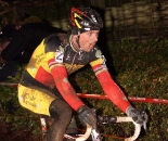 Sven Nys rode well, but a mechanical would bring a bad ending to the crowd favorite's day.