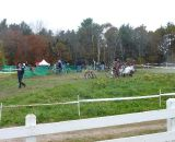 A view of the (busy) pit. © Cyclocross Magazine