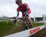 McNicholas in the off-camber. © Cyclocross Magazine