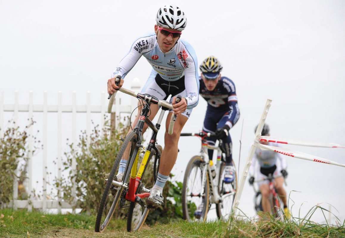 Shaun Adamson (Cycle-Smart) managed his first-ever UCI point today © Natalia Boltukhova   Pedal Power Photography