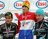 Dutch National Championship Junior Men podium. ? Bart Hazen