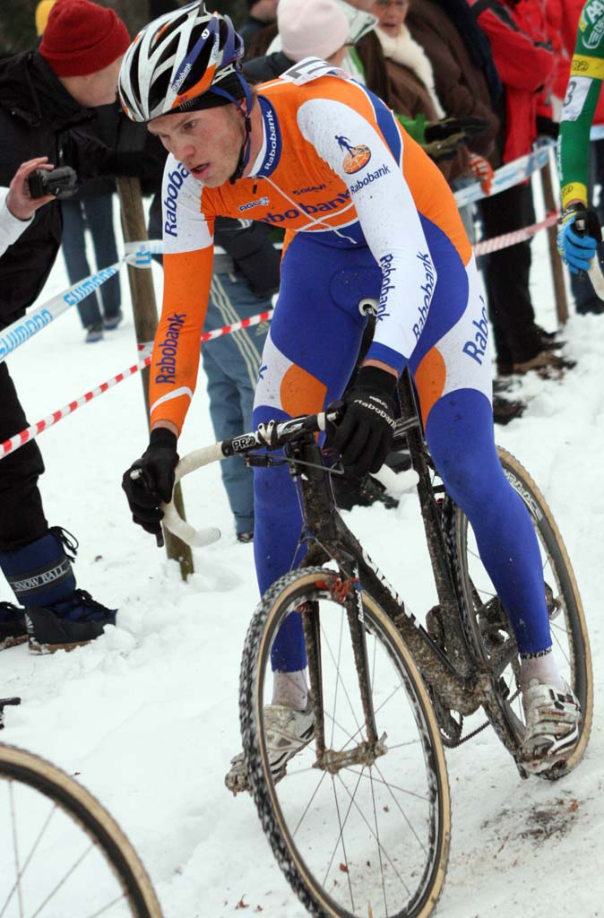 Lars Boom will spend another year in the National champs jersey. ? Bart Hazen