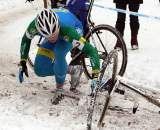 Thijs Al goes down in the snow. ? Bart Hazen