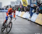 Van der Poel was unstoppable in the Elite Junior World Championships of Cyclocross 2013 © Meg McMahon