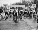 The start in the Elite Junior World Championships of Cyclocross 2013 © Meg McMahon