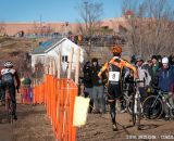Heading back on course at Elite Men 2014 USA Cyclocross Nationals. © Steve Anderson