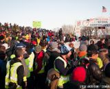 The crowds at Elite Men 2014 USA Cyclocross Nationals. © Steve Anderson