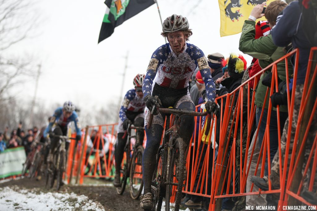 Andrew Dillman in the Elite U23 World Championships of Cyclocross 2013 © Meg McMahon