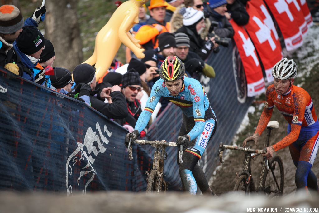 The Dutch rider in the Elite U23 World Championships of Cyclocross 2013 © Meg McMahon