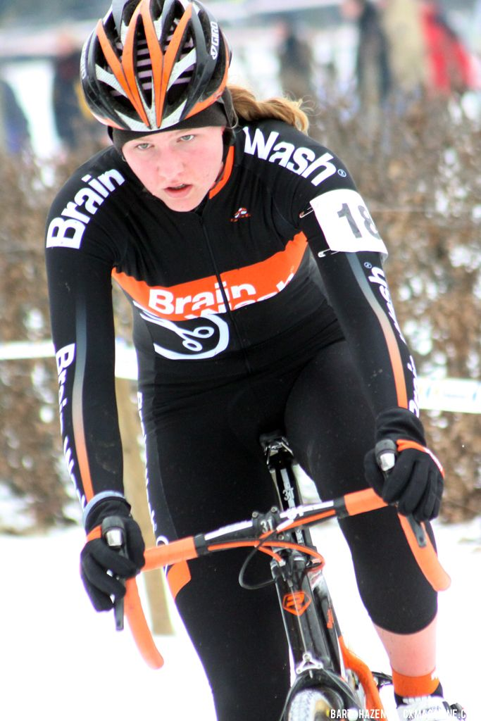 Evy Kuipers at GP Heuts. © Bart Hazen