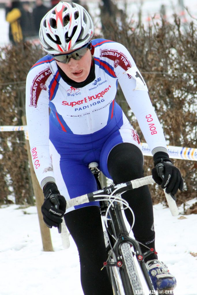 Nikoline Hansen at GP Heuts. © Bart Hazen
