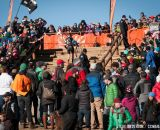 The crowds Elite Women 2014 USA Cyclocross Nationals. © Steve Anderson