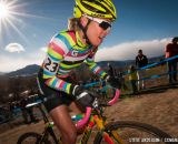 Emily Kachorek at Elite Women 2014 USA Cyclocross Nationals. © Steve Anderson