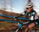 Compton heading to the win Elite Women 2014 USA Cyclocross Nationals. © Steve Anderson