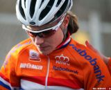 Vos contemplating in the Elite Women World Championships of Cyclocross 2013 © Meg McMahon