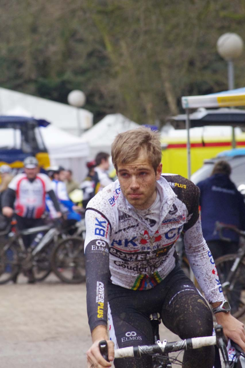 Niels Albert was among the top riders gathered to say farewell to Vervecken. ? Jonas Bruffaerts