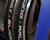 A profile view of the new Schwalbe tires. © Jeff Lockwood