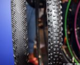 The new tread design on the Schwalbe tires. © Jeff Lockwood