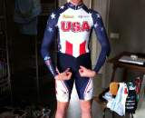 Josh Berry before World Cup. Bodybuilder or bike racer? © Nathan Phillips