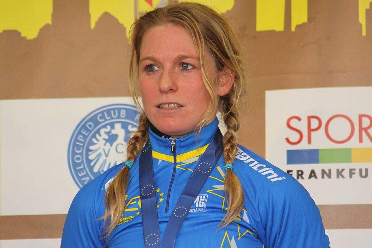 Van Den Brand won her third European Championship. © Bart Hazen