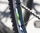 24-inch cyclocross-labeled wheels on the Felt 2014 F24x kid's cyclocross bike. © Cyclocross Magazine
