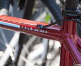 The Felt Bicycles Breed Singlespeed Cyclocross Bike goes blood red for 2014. © Cyclocross Magazine