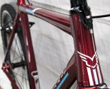 The Felt 2014 Breed Singlespeed Cyclocross Bike features a tapered steerer and headtube. © Cyclocross Magazine