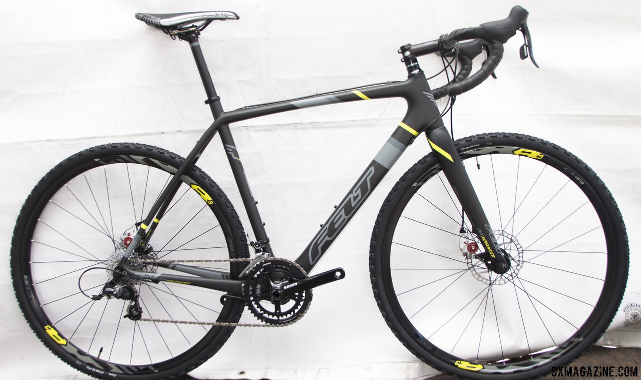 The Felt 2014 F5x carbon cyclocross bike. © Cyclocross Magazine