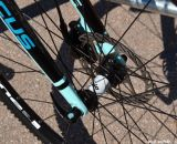 High end bikes with disc brakes are becoming the norm at Interbike 2013. © Cyclocross Magazine