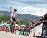 Jeremy Powers (Rapha-Focus) takes the win on Day 2 of the USGP Fort Collins. © VeloVivid Cycling Photography