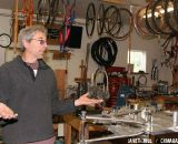 A Very Practical Artist: An Interview with Frame Builder Doug Curtiss. © Janet Hill
