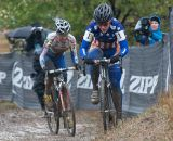 Nash and Compton do battle through the mud. © Wil Matthews