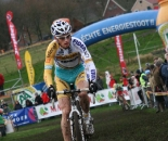 Kevin Pauwels rode well to finish on the podium. ? Bart Hazen