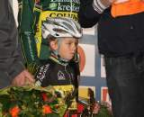 Nys shared the podium with his son. © Bart Hazen