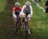 Vos and van den Brand took turns at the front throughout the day. ? Bart Hazen