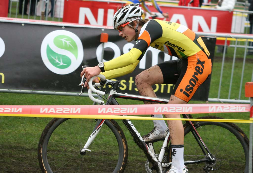 Van der Poel is the son of cross legend Adri Van der Poel. ? Bart Hazen