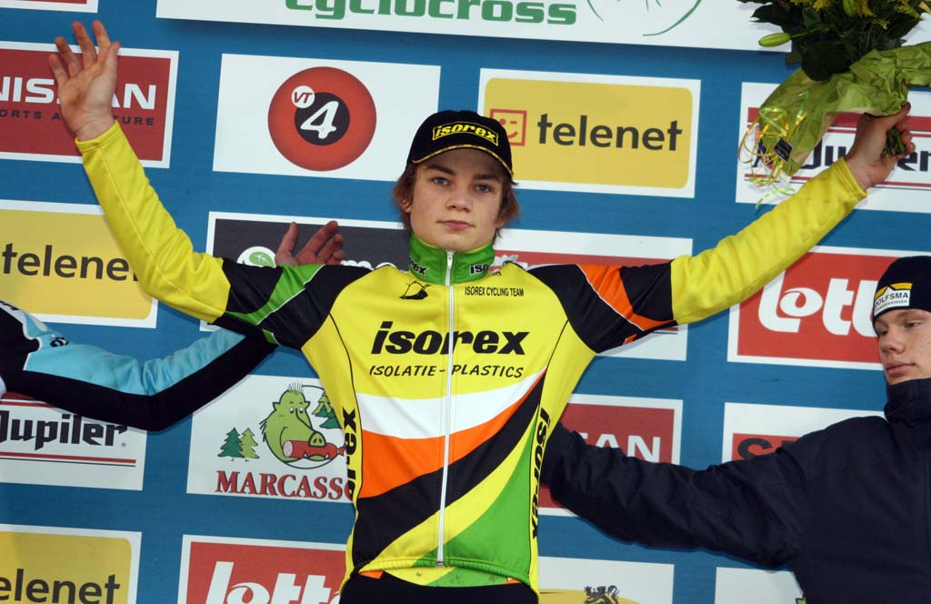 Van der Poel was the strongest on the day. ? Bart Hazen