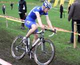 Dolfsma and the other young riders charged through the muddy conditions. ? Bart Hazen